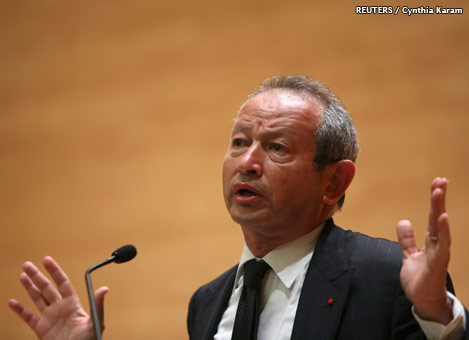 PROFILE-Egyptian telco tycoon Sawiris heads back to Italy